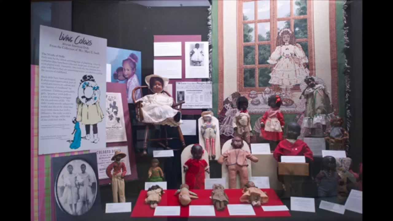 RARE AFRICAN-AMERICAN DOLL COLLECTION ON DISPLAY AT CAPITOL