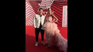 Бузова получила тарелку на премии МУЗ ТВ 2018