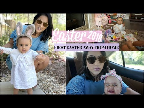 EASTER VLOG 2018// OUR CHILL LITTLE FAMILY EASTER// HAPPY EASTER