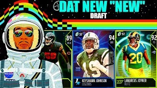 """DAT NEW """"NEW"""" DRAFT! TAKING THE NEWEST MUT CARD IN EVERY ROUND! Madden 19 Draft Champions"""