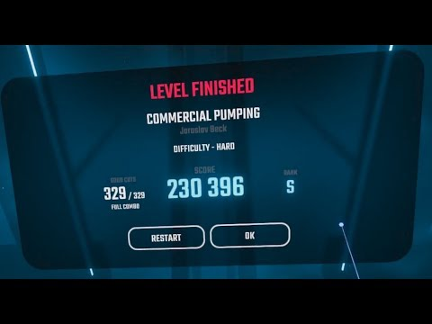 Beat Saber - COMMERCIAL PUMPING [HARD, S rank]