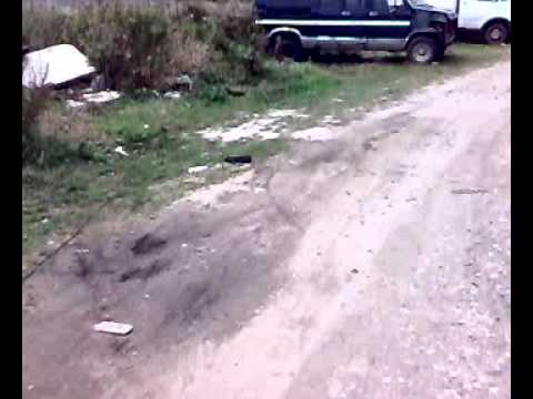 Взрыв подушки безопасности форд