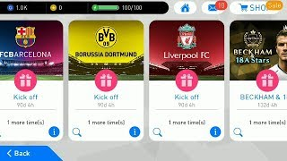 Opening Pack New Player PES 2018 Mobile