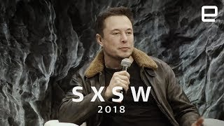 Elon Musk Q&A in Under 12 Minutes at SXSW 2018 streaming