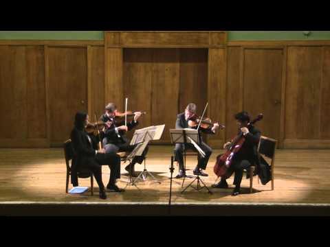 Artea Quartet - Schubert 'Death & the Maiden' D.810, 1st Movement, Allegro
