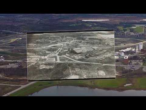 Old Hollinger Mine and Goldcorp's Pit - Then and Now