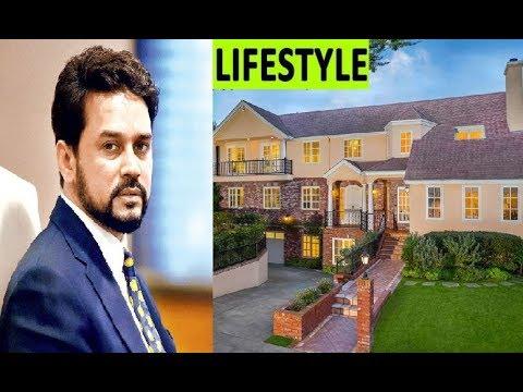 Anurag Thakur (BCCI) Lifestyle Income House Family Biography Car 2018