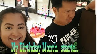 My Birthday Month starts  Louis Vuitton Dubai Mall  ( Aug 2, 2016- Vlog) Jesse Quetz