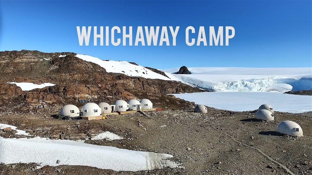 ホワイトデザート社 南極メインキャンプの紹介