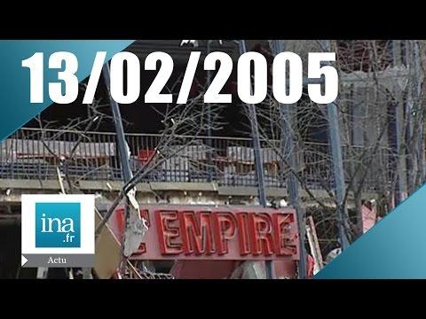 20h France 2 du 13 février 2005 - Explosion au Théâtre de l'Empire | Archive INA