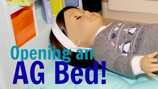 American Girl Doll Bed | Unboxing & Assembly | Xmas Present | Furniture | AG Review | Store