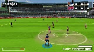 PSP Game Sample: AFL Challenge