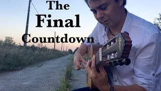 "EUROPE ""The Final Countdown"" Acoustic - Fingerstyle Guitar by Thomas Zwijsen"