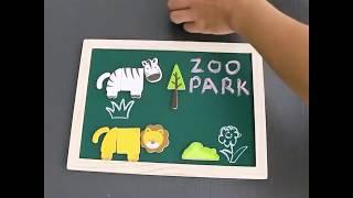 Детский набор для игр и творчества GoryeoBaby   Зоопарк