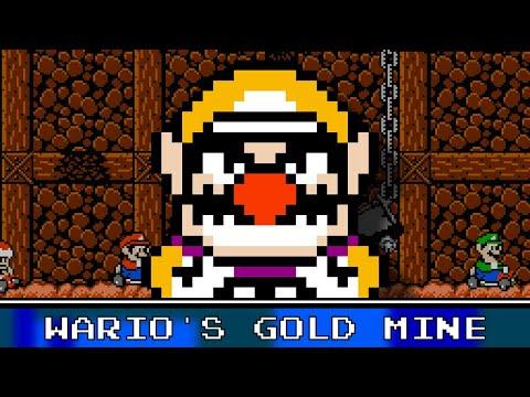 Wario's Gold Mine 8 Bit Remix - Mario Kart Wii