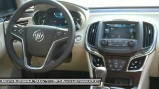 2015 Buick LaCrosse San Diego CA 215070