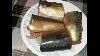 Малосольная скумбрия в пряном маринаде. Меняем цвет рыбы .Всем приятного аппетита.