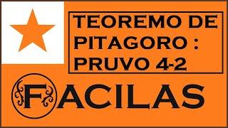 TEOREMO DE PITAGORO : PRUVO 4-2 (ESPERANTO)