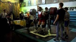Magomadov Daniil 90kg, Squat 340kg