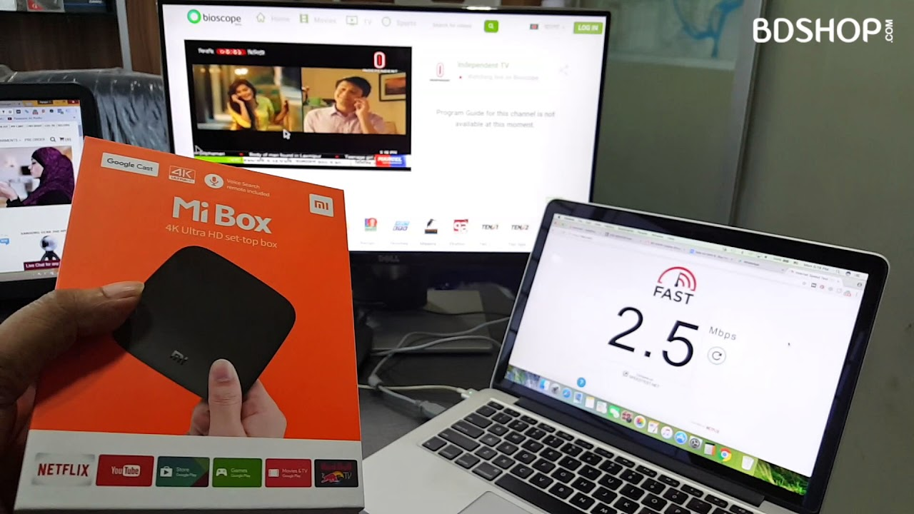 How to Watch Bangla TV Channels with Bioscope Live on TV with Xiaomi Mi TV  Box for FREE