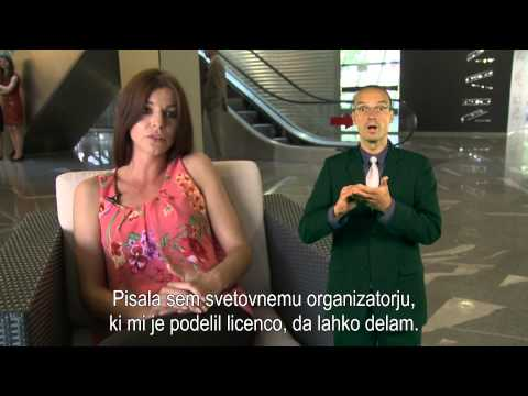 Miss gluhih Slovenije 2014 je Maša Gruden