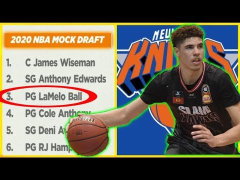 Lamelo Ball Now Projects As A Top 3 Pick On Espn S 2020 Nba Mock Draft