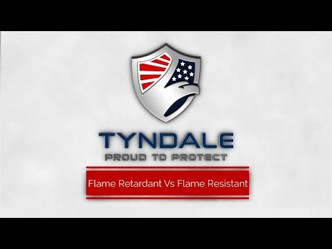Flame retardant vs Flame Resistant