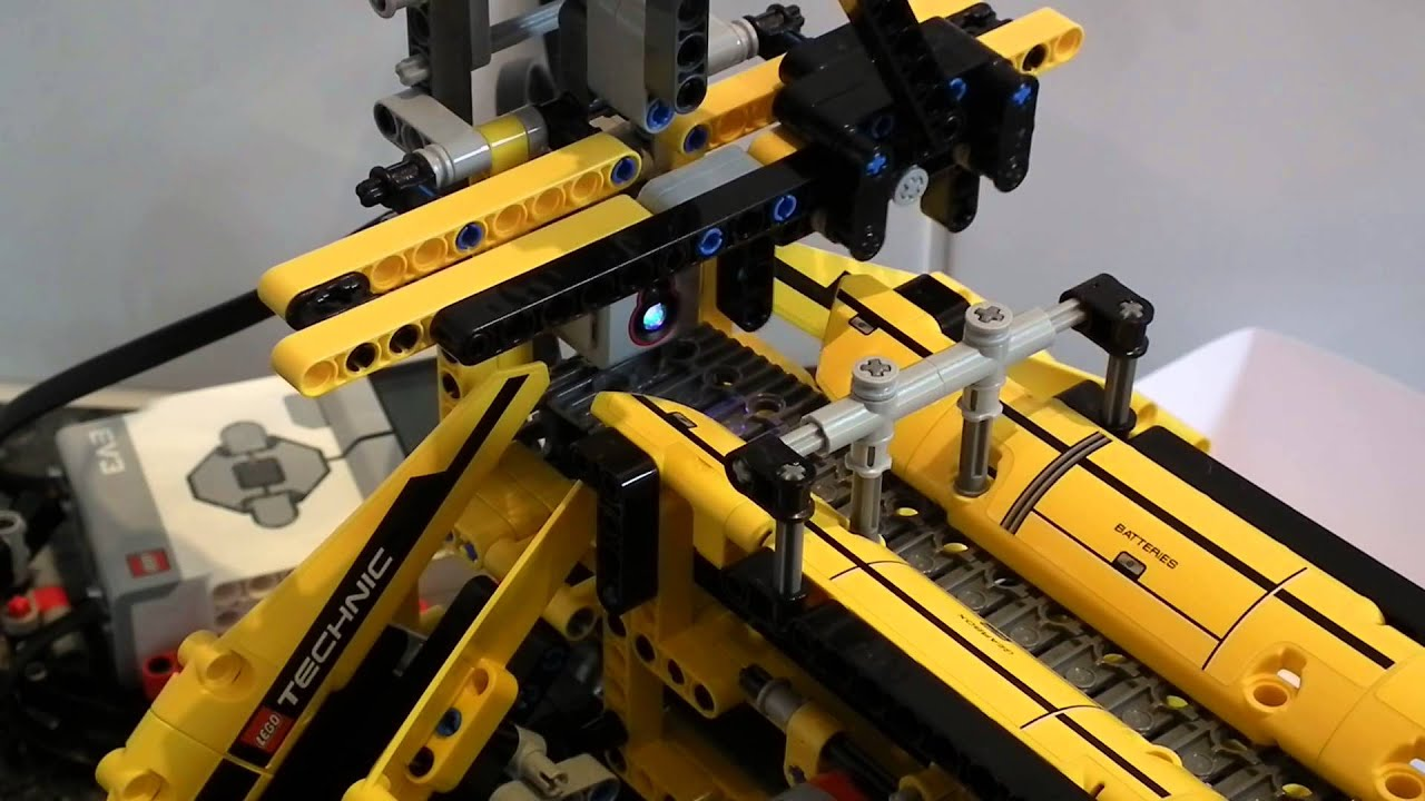 LEGO® MINDSTORMS® EV3 Brick Sorter - Steinsortierer - YouTube