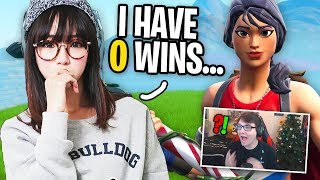 I Met A GIRL STREAMER in Fortnite Random Duos and CARRIED HER...