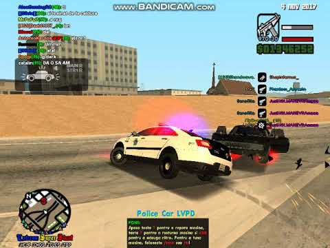SA:MP | LSPD FORCE | Keldr pulled over a black Infernus,and he run