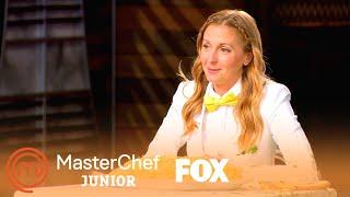 Christina Gets Dumped With Cheese Sauce | Season 7 Ep. 9 | MASTERCHEF JUNIOR