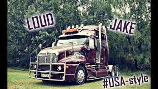 Kenworth T2000 w/ LOUD PIPES