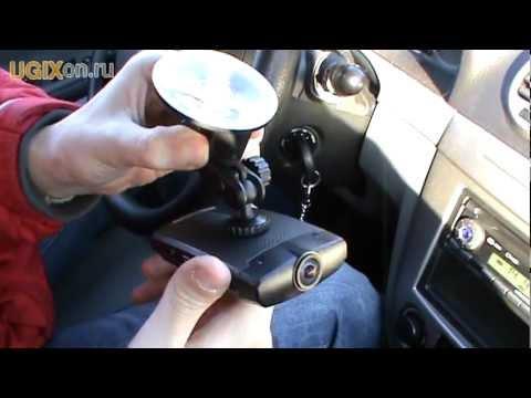 DOD V660 - установка в автомобиле