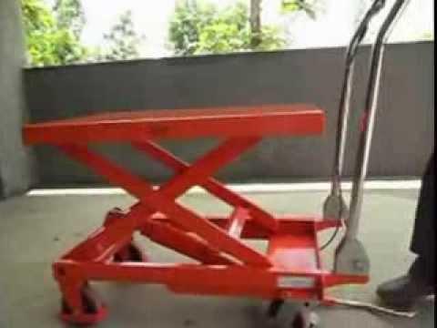 Manual-Scissor-Lift-Table flv