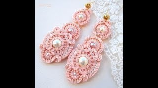 DIY soutache fashion jewellery latest designs / women fashion jewellery