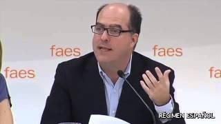 Carlos Alberto Montaner, María Machado, Julio Borges y Ramón Muchacho, contra Venezuela. FAES 2014