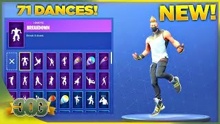 * NEU* DRIFT SKIN Showcase mit allen 71 Fortnite Tänzen & Emotes! (Fortnite Season 5 Skin)
