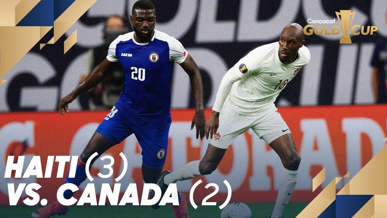 Haiti (3) vs  Canada (2) - Gold Cup 2019