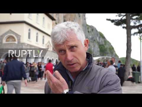 Montenegro: Pilgrims flock to Ostrong monastery, seeking its 'healing powers'
