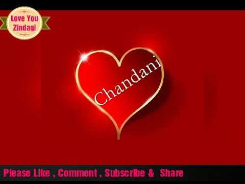 Chandani New Name Status À¤¨à¤¯ À¤¨ À¤® À¤¸ À¤Ÿ À¤Ÿà¤¸ Ho Gaya Hai Tujhko To Pyaar Sajna Youtube