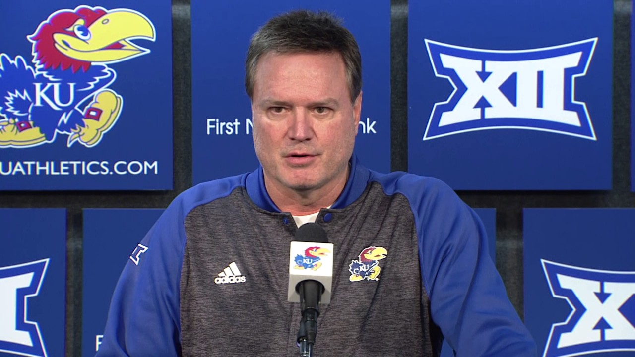 Image result for bill self press conference