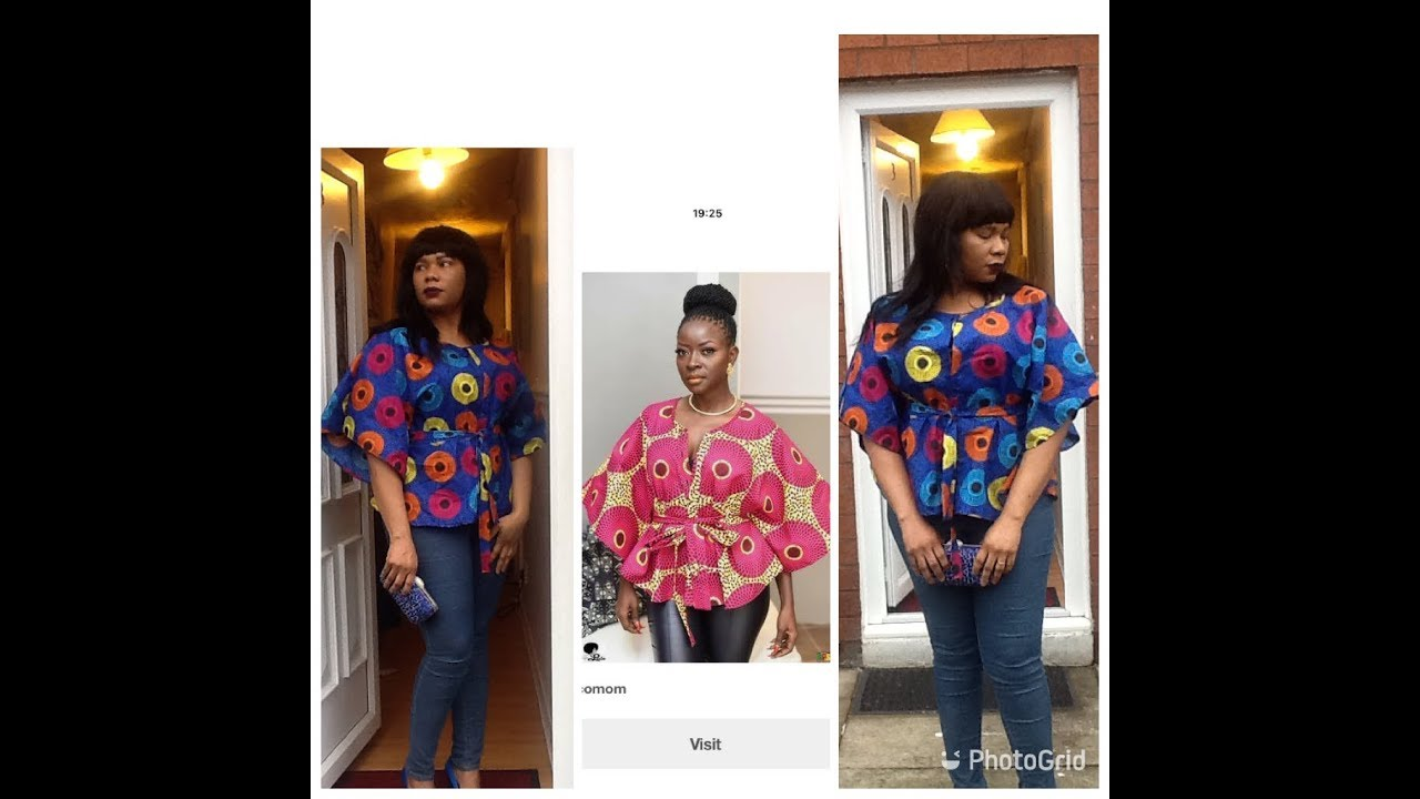 how to make simple blouse