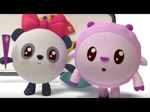 Малышарики - Пазлик  - серия 107 - обучающие мультфильмы для малышей 0-4