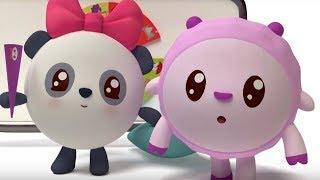 Малышарики - Пазлик  - серия 107 - обучающие мультфильмы для малышей 0-4 - новый год!