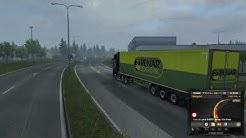 Euro Truck Simulator 2. Beyond The Baltic Sea. Turku(Finland)-Vilnius(Lithuania). 4K