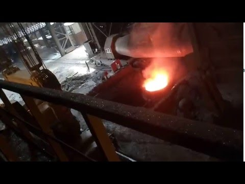 Steel manufacturing process in vizag steel plant (industrial visit)