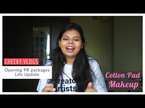 Opening PR Packages And Life Update   Cheeky Vlogs