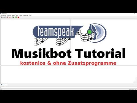 Teamspeak 3 Musikbot - Kostenlos und ohne Zusatzprogramme! [Teamspeak Musikbot Tutorial]