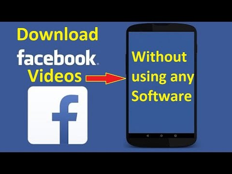 Save Facebook Videos onto your phone!! - Howtosolveit