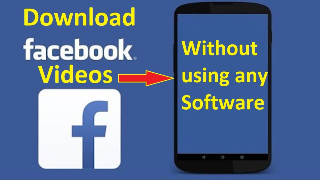 can you download facebook videos